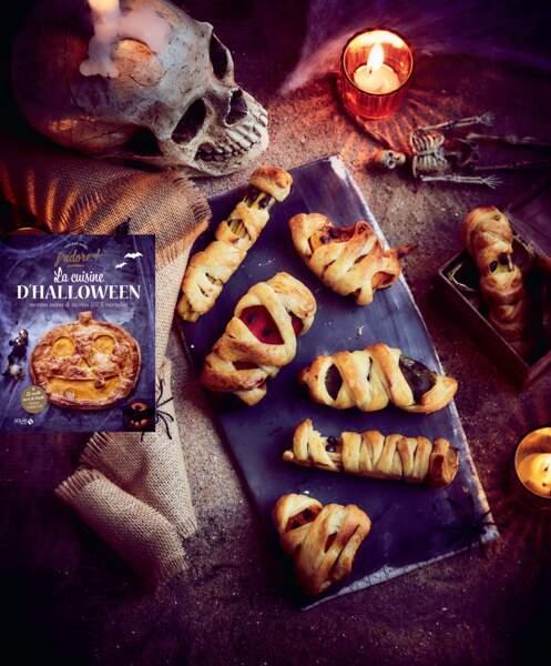 Légumes momifiés en pâte feuilletée