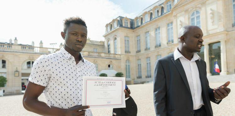 Mamoudou Gassama a officiellement été naturalisé