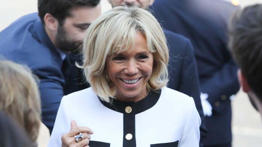 Brigitte Macron ose le look geisha au château de Versailles