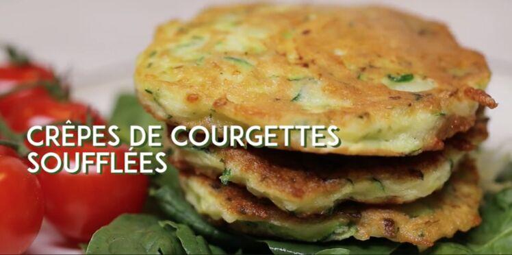 Crêpe de courgettes soufflées : la recette spéciale brunch en vidéo
