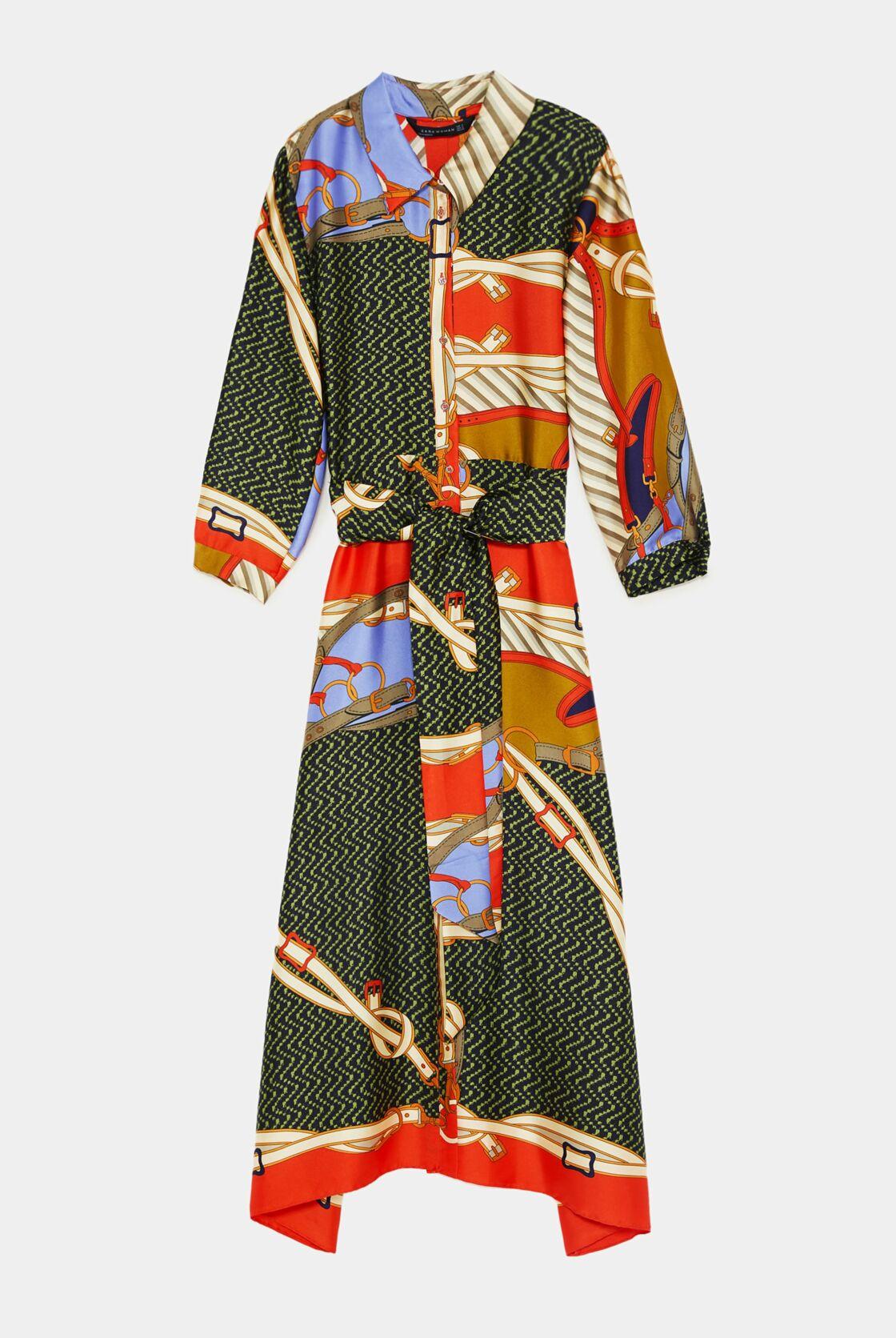 Zara Cette Robe Qui Fait Tourner La Tete Des Modeuses Est