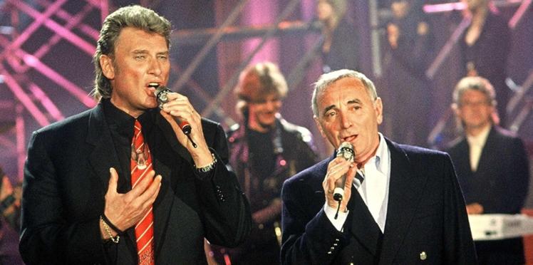 Charles Aznavour révèle avoir été tenu éloigné de Johnny Hallyday, son fils spirituel