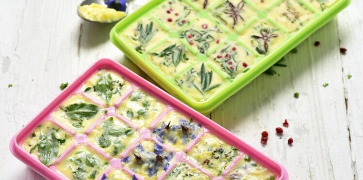 La recette du beurre parfumé aux herbes et aux fleurs de Dorian Nieto
