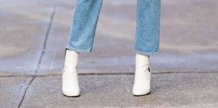 Bottines blanches, les chaussures tendance de la saison
