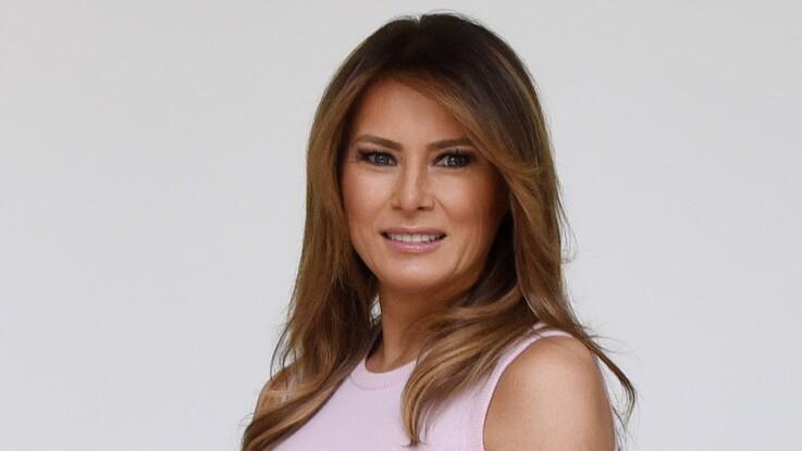 Melania Trump : cette robe en jean, créée par un Français, est désormais quasiment introuvable