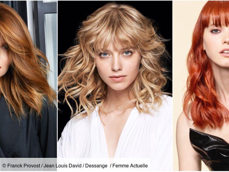 Style de coupe de cheveux long femme