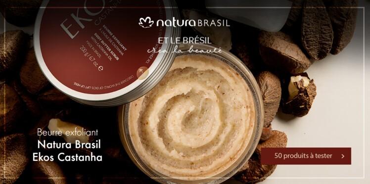 Testez le Beurre Exfoliant à l'huile de Castanha de Natura Brasil