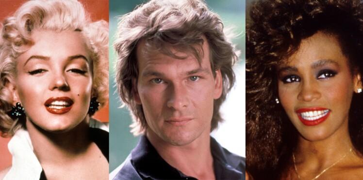 Photos - Marilyn Monroe, Patrick Swayze, Whitney Houston... Les histoires d'amour secrètes des stars