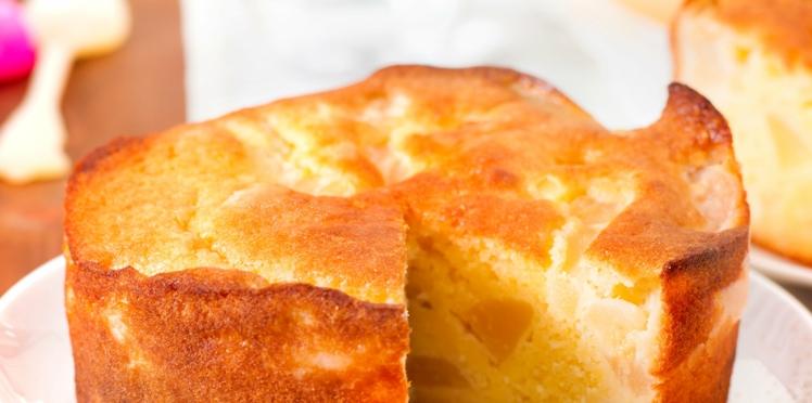 Gâteau au yaourt à la poire