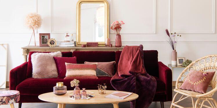 Salon, salle à manger, chambre : comment les relooker à moins de 100€