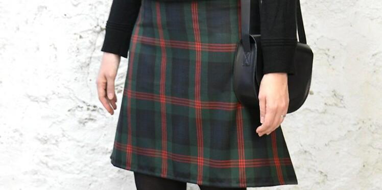 DIY : comment coudre une jupe trapèze en 1h chrono