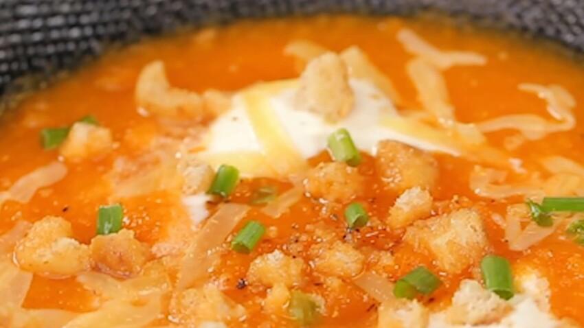 Des recettes à croquer : Soupe potimarron carotte cumin