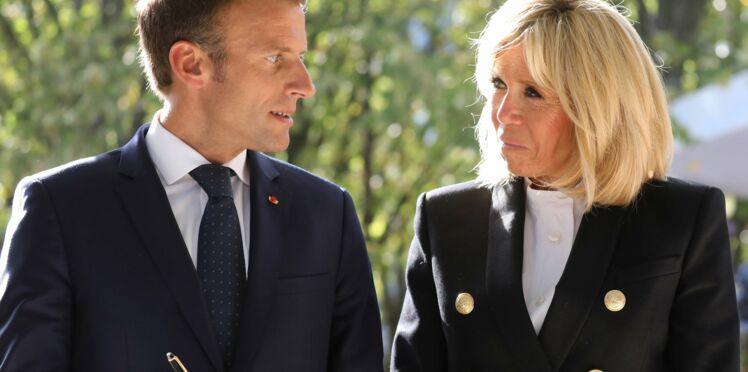 Brigitte Macron : on craque pour ses vestes esprit marin ! (Et nous aussi, on en veut une !)
