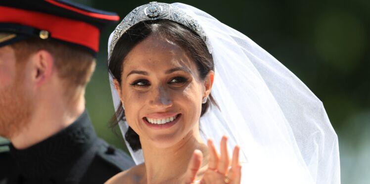 Meghan Markle dévoile un secret bien caché de sa robe de mariée