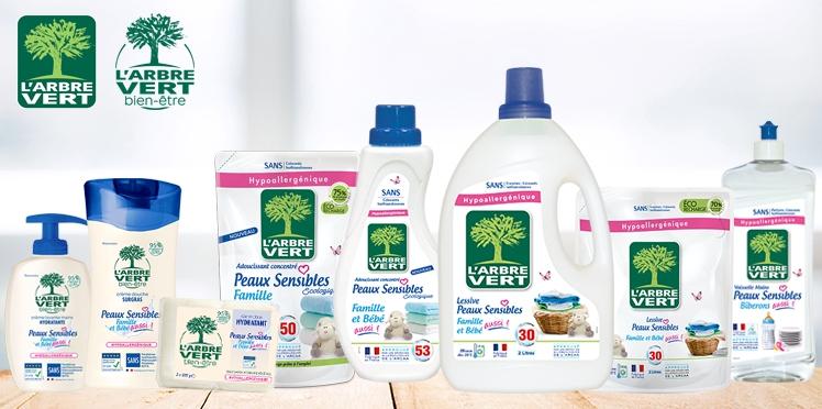L'Arbre Vert : 50 lots de produits à gagner