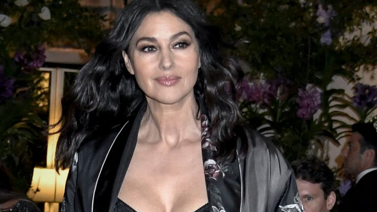 PHOTOS - Monica Bellucci, sublime sur le podium du défilé Dolce & Gabbana