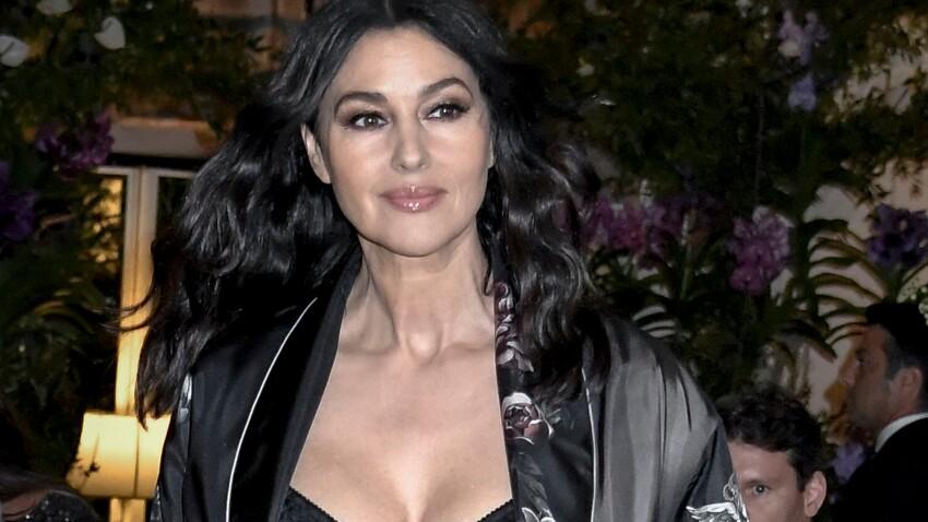 PHOTOS - Monica Bellucci, sublime sur le podium du défilé Dolce & Gabbana