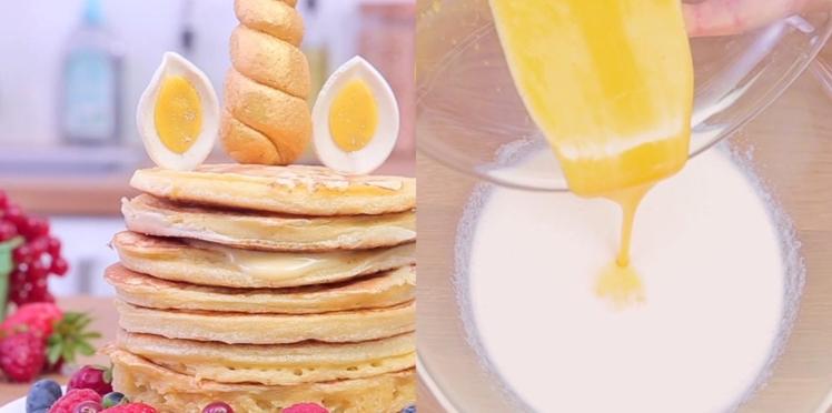 Notre recette de pancake facile avec une Danette vanille