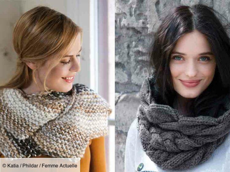Snood Au Tricot Les Plus Beaux Modèles Gratuits Femme
