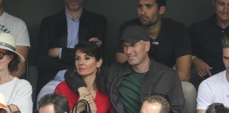 Photo: Zidane s'offre une virée à Londres avec sa femme