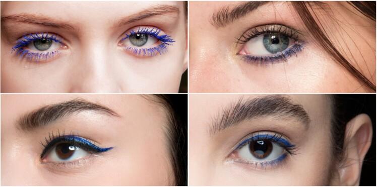 Maquillage : 4 façons de porter le bleu sur les yeux