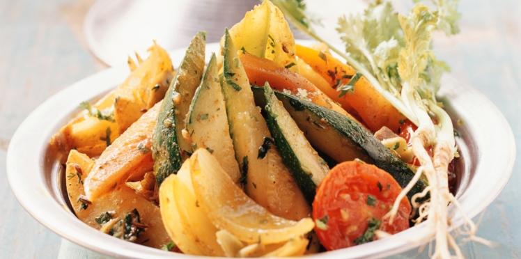 Tajine végétarien aux légumes