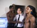Photos - Doigt d'honneur et pantalon baissé : un cliché d'Emmanuel Macron avec deux jeunes à Saint-Martin fait le buzz