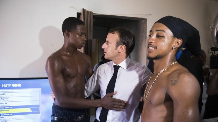 Emmanuel Macron : après la photo polémique du doigt d'honneur, l'un des deux jeunes explique le geste