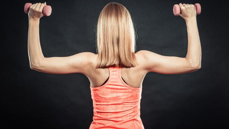 5 exercices pour muscler ses bras   Femme Actuelle Le MAG 6254466c666