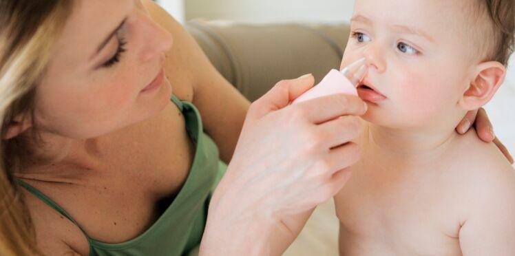 Rhume : l'astuce des professionnels pour déboucher le nez d'un enfant