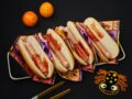 Hot-dogs doigts en sang pour Halloween