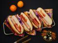 Hot-dogs doigts en sang pour Halloween