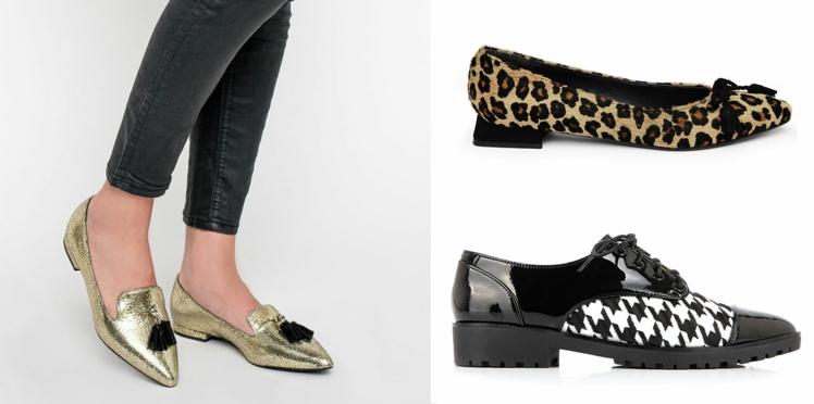 Derbies, mocassins, baskets, ballerines… 20 chaussures plates pour être au top de la tendance