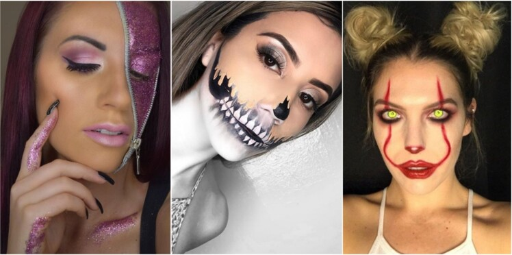 10 trucs bluffants et faciles pour réussir son make-up d'Halloween
