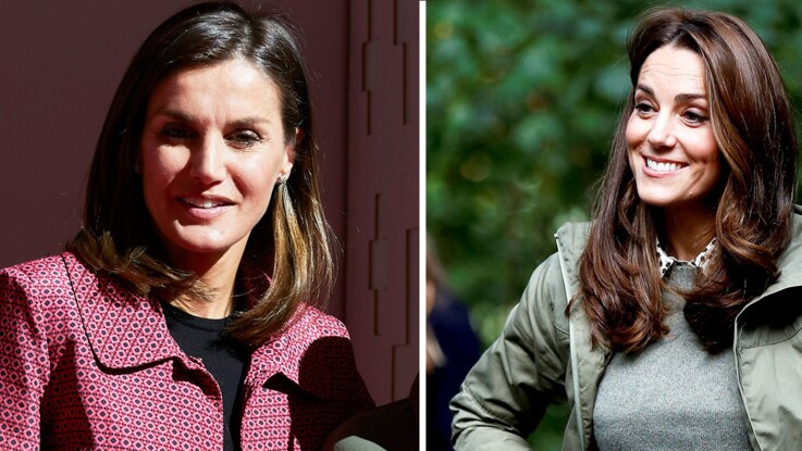 PHOTOS - Kate Middleton et Letizia d'Espagne : cette pièce mode trop belle qu'elles ont en commun... (Et qu'on peut s'offrir !)