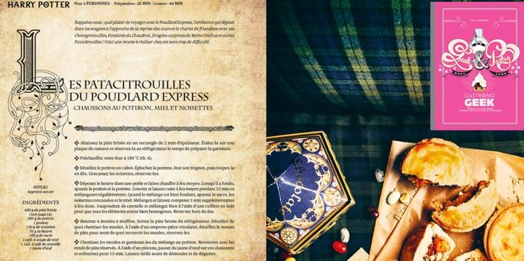 Les patacitrouilles du Poudlard Express (Harry Potter)