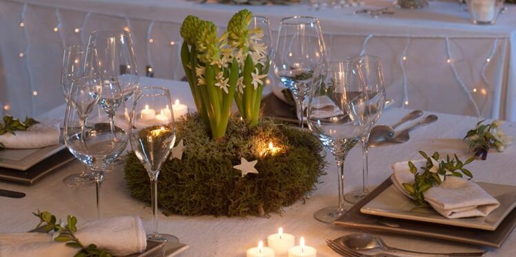 DIY facile et pas cher : un centre de table végétal pour Noël