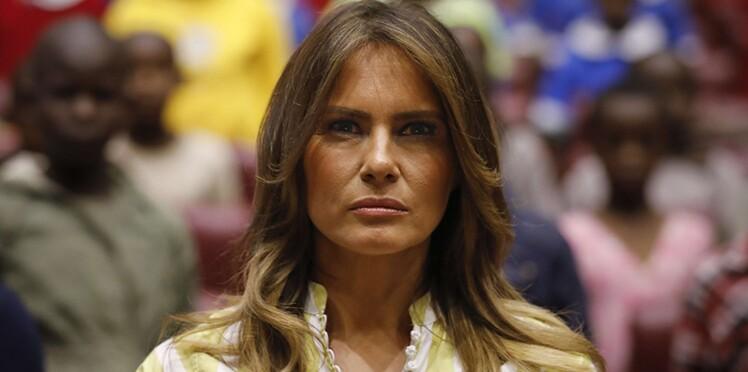 Photos - Melania Trump suscite l'indignation au Kenya à cause d'un accessoire jugé raciste
