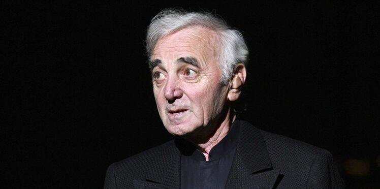 """""""Je rêve de mes enfants"""" : Charles Aznavour était """"obsédé"""" à l'idée qu'il leur arrive malheur"""