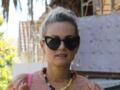 Laeticia Hallyday de retour à Paris : elle porte la croix de son époux et un t-shirt à l'effigie de Johnny Hallyday