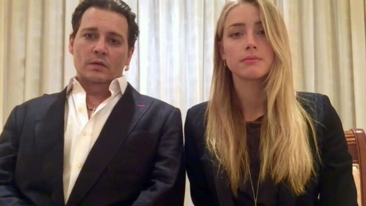 Johnny Depp riposte violemment aux accusations de violences conjugales d'Amber Heard