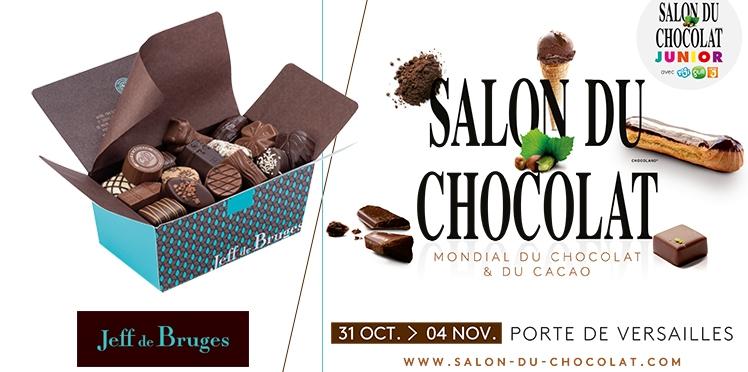 Des lots gourmands à gagner avec Le Salon du Chocolat