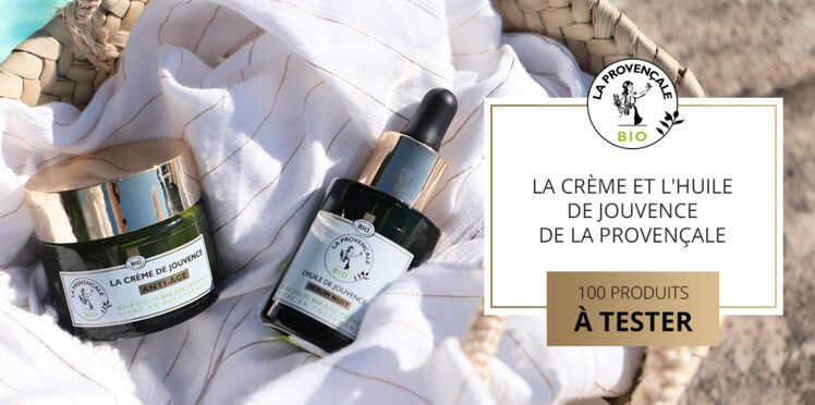Testez la crème et l'huile de Jouvence de la marque bio La Provençale