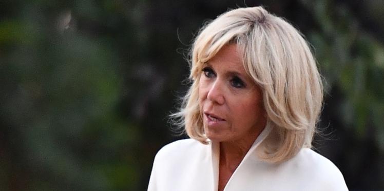 PHOTOS - Brigitte Macron a changé un détail de son look : l'aviez-vous remarqué ?