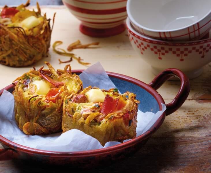 Muffins de râpés au beaufort