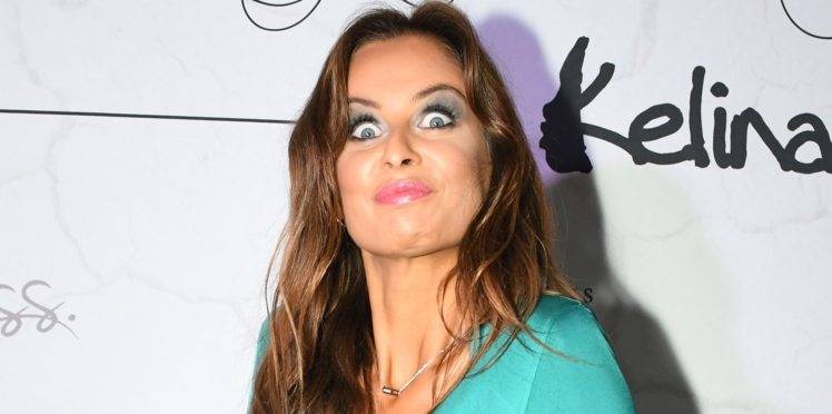 PHOTOS - Malika Ménard : petit accident de décolleté pour l'ex-Miss France