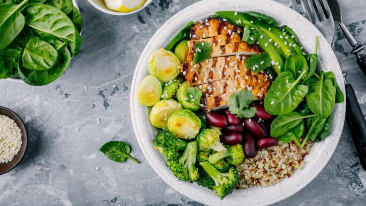 plans de repas diététiques de 2 semaines
