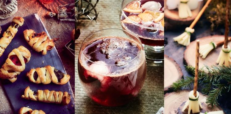 Apéro d'Halloween : nos recettes sympas pour faire la fête