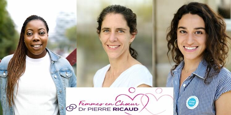 3e édition du prix Femmes en Chœur Dr Pierre Ricaud : voici les trois lauréates!