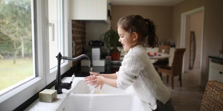 L'astuce toute simple pour aider les enfants à bien se laver les mains